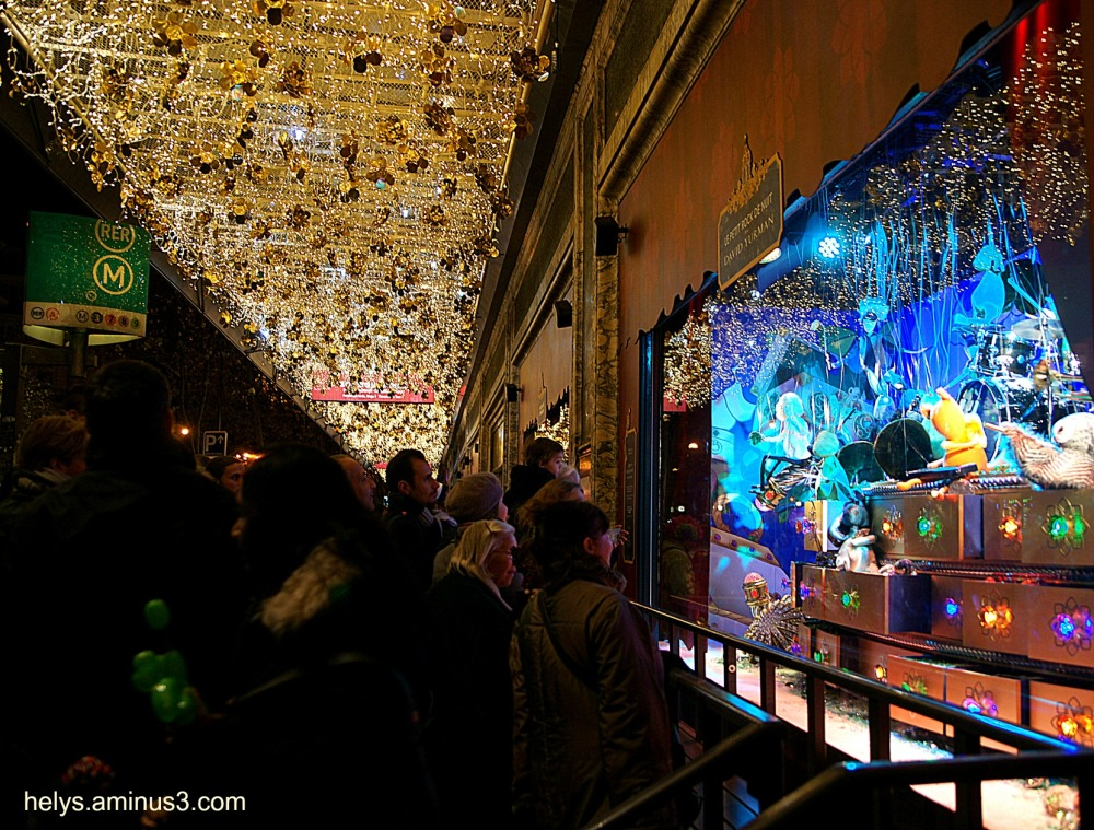 Christmas illuminations, paris6