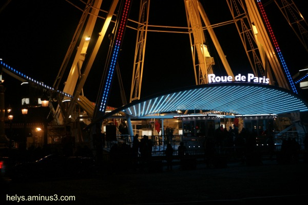 grande roue paris entrance
