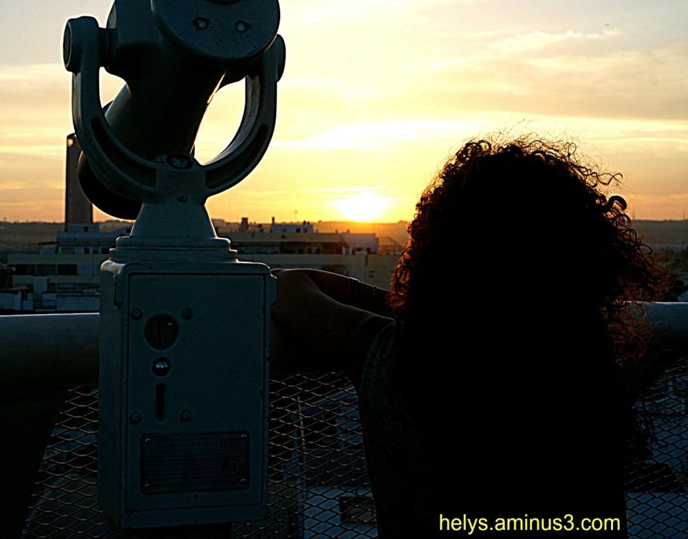 sunset from the metropole parasol, sevilla