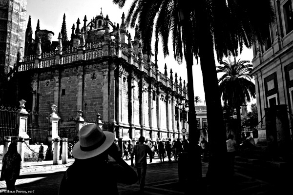 a walk in sevilla