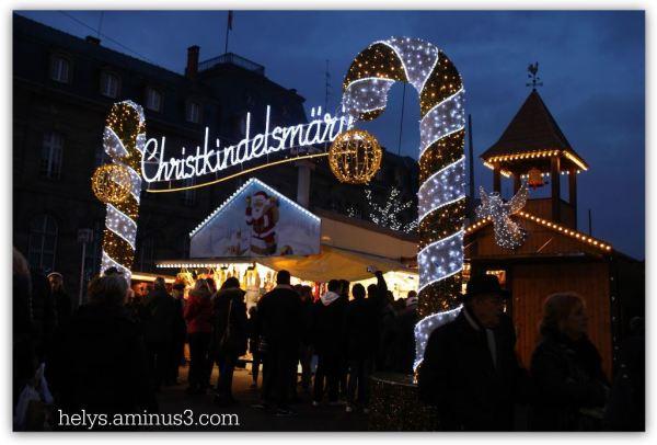 christmas market strasbourg france