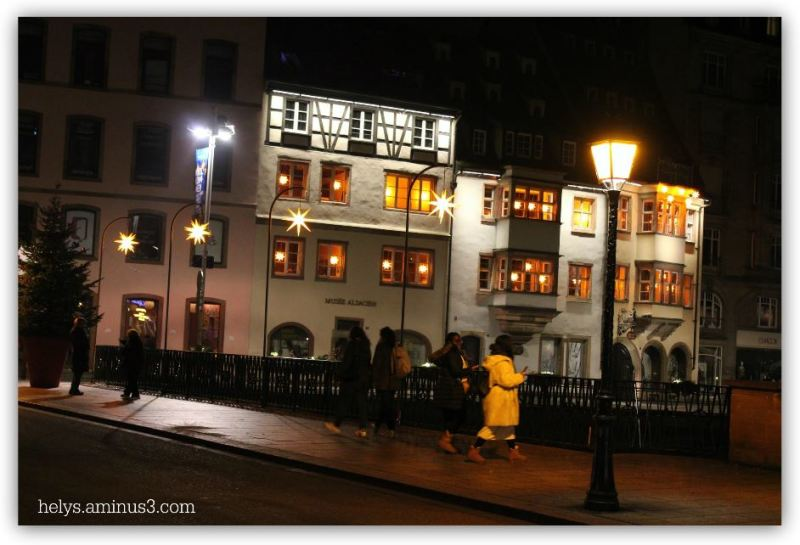 christmas lights in strasbourg F67 France2