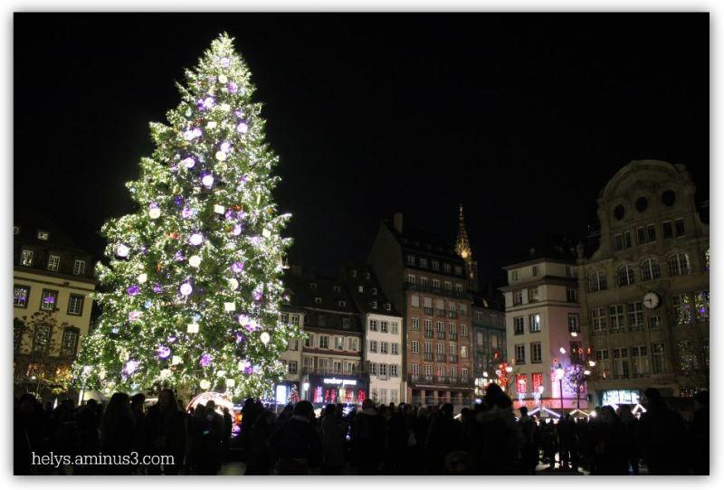 christmas lights in strasbourg F67 France3