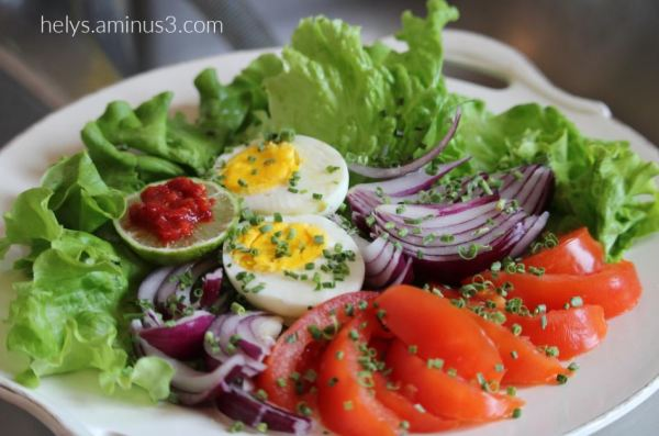 vegetabkes egg salad