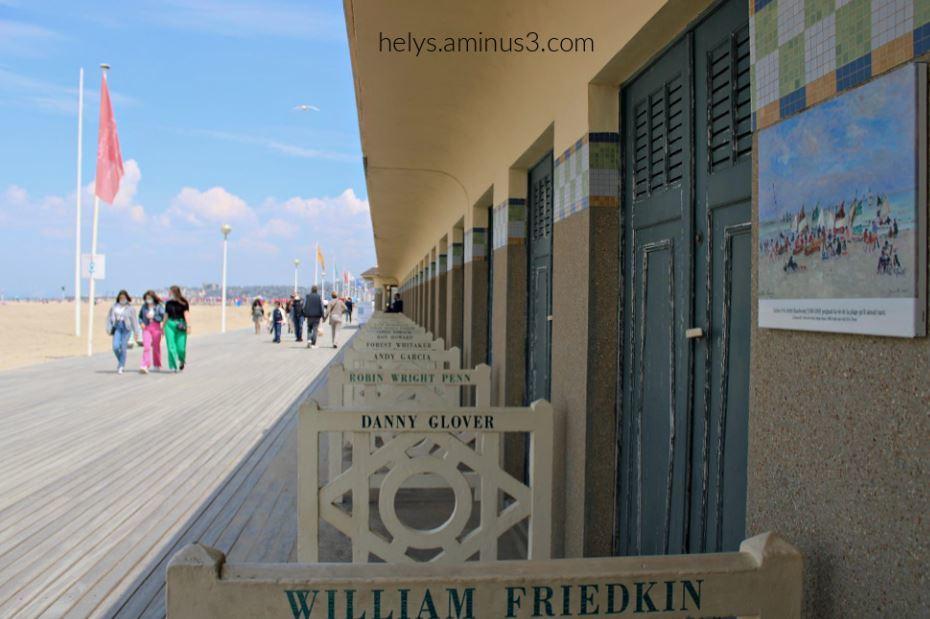 1-cabines&planches de deauville plage F14