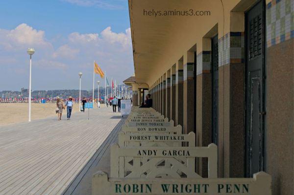 2-cabines&planches de deauville plage F14