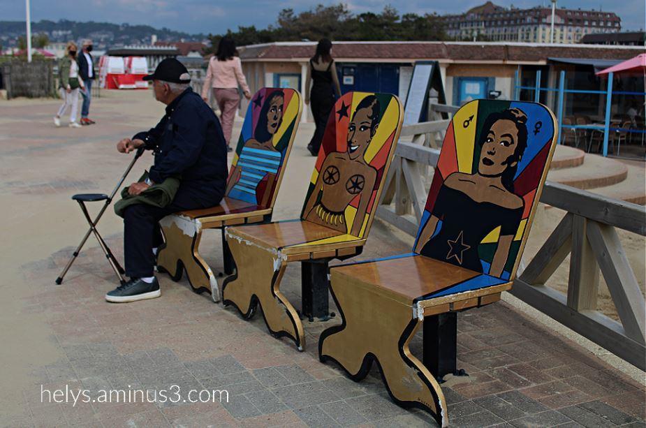 mermaids-sébastien lucas' seats, deauville F14