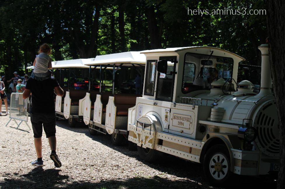 1-the small touristic train, honfleur F14