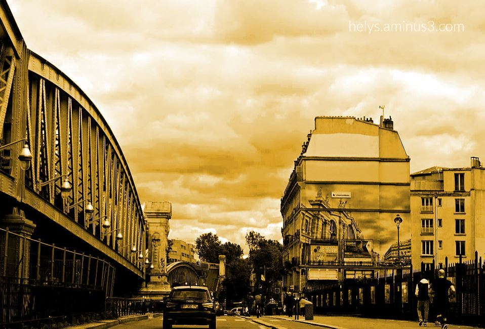 a street in paris 2021