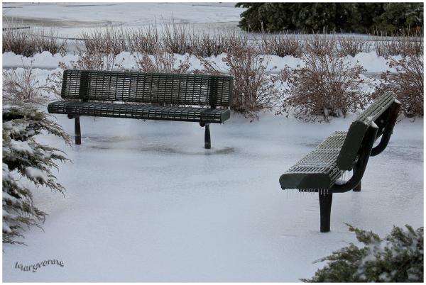 bancs hiver