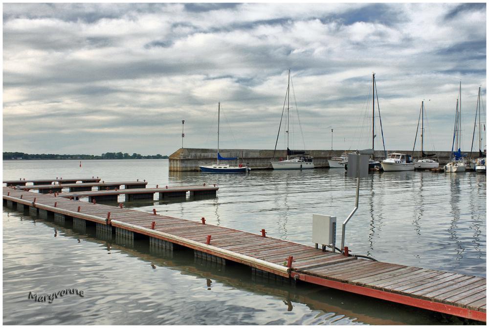 marina voilier  quai