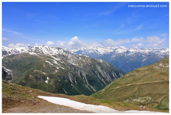 neiege montagne