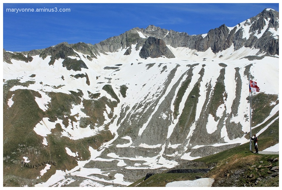 col montagne neige