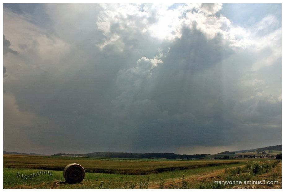 ciel nuage campagne