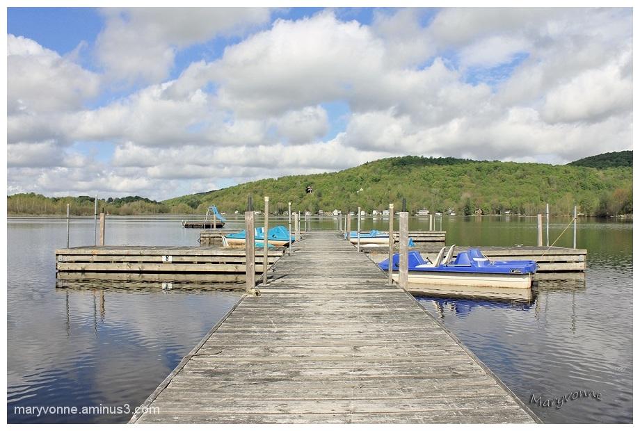 lac eau quai