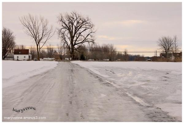 Chemin de glace