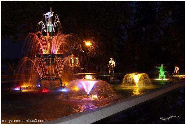 Fontaine du parc, St-Félicien