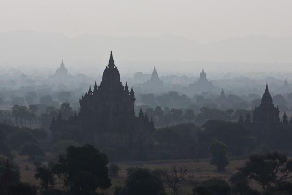 La brume envoutante de Bagan