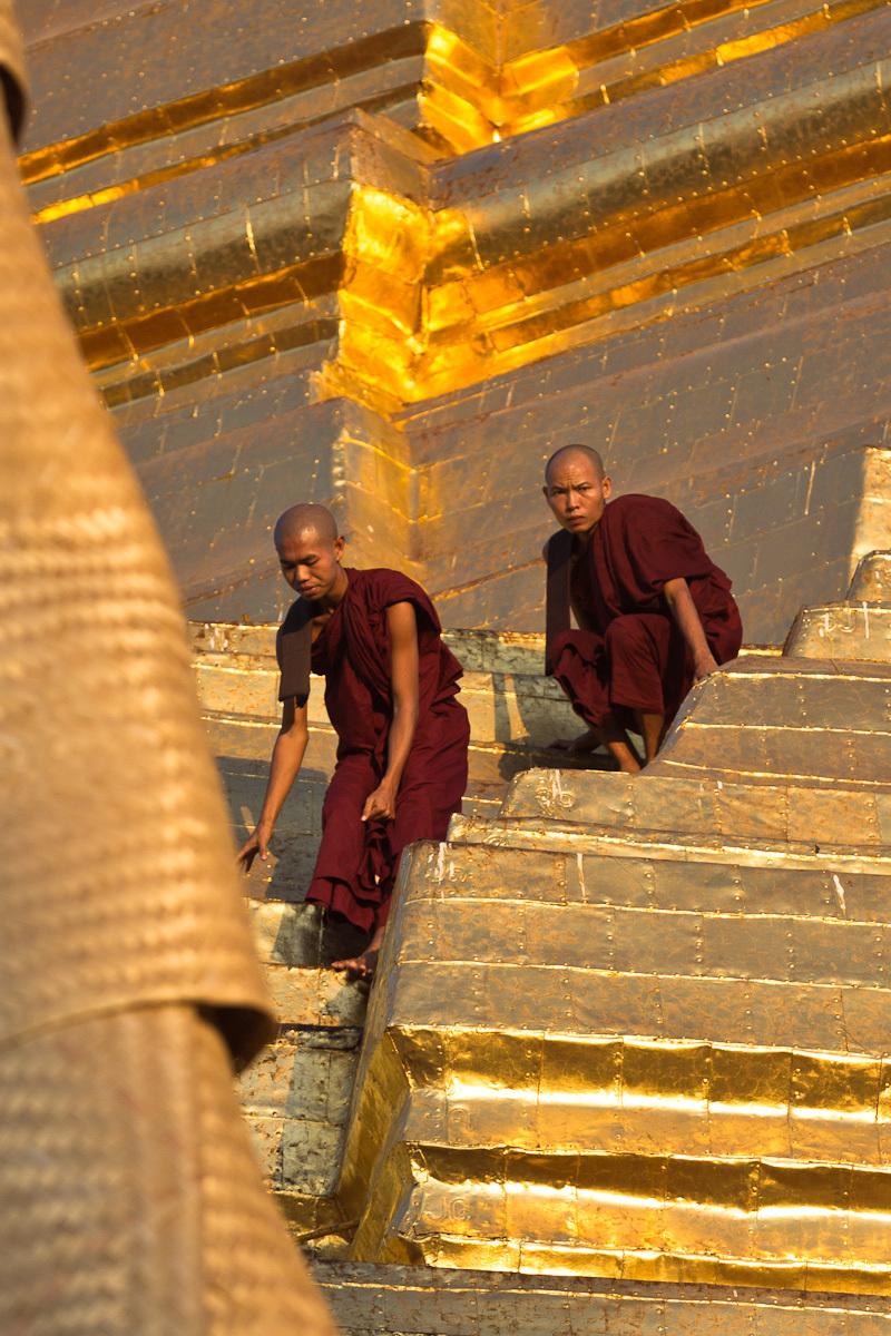 Les moines de Shwegadon