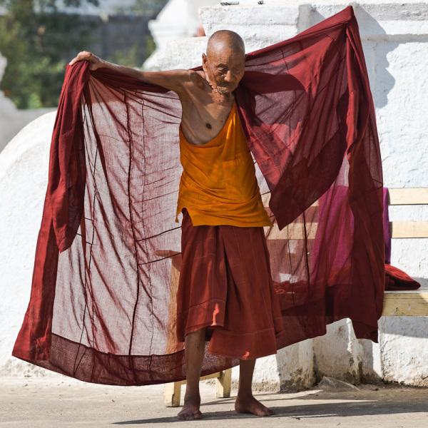 l'habillement du moine