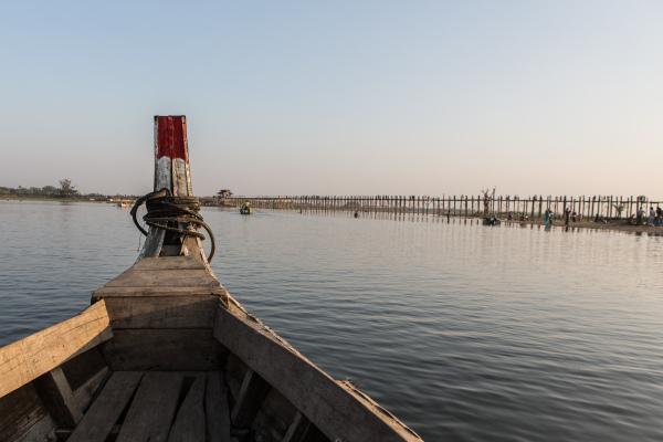 l'approche du pont U-Bein
