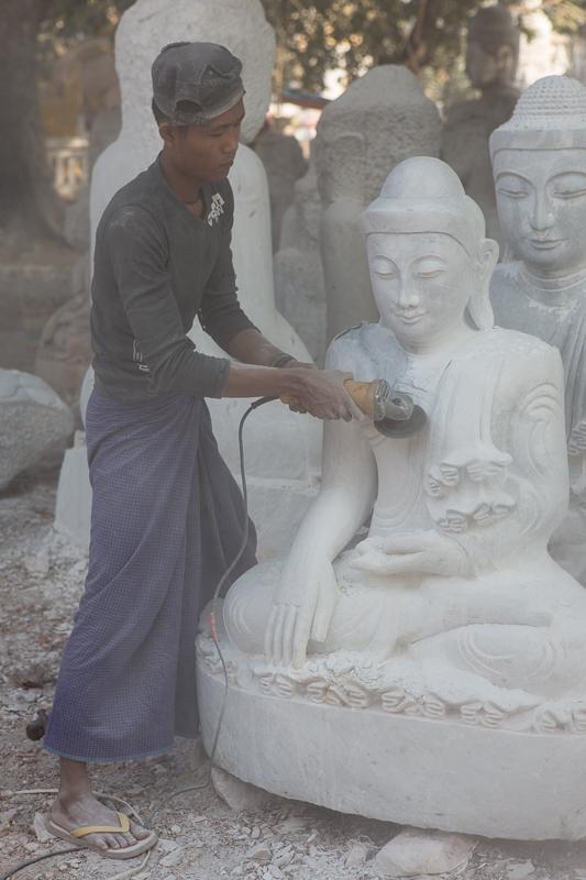 La poussière de Bouddha