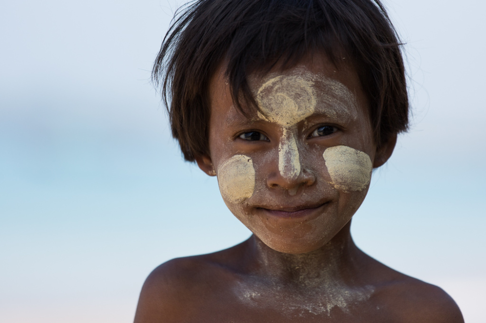 Portrait , Birmanie