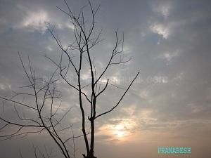 sunrise in cloud