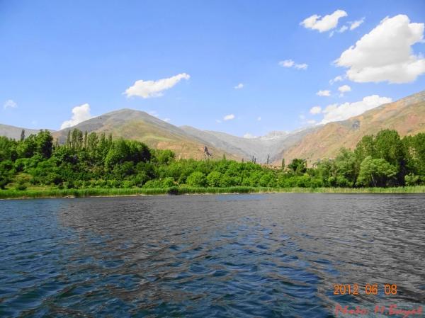 Ovan lake (Qhazvin,Iran)
