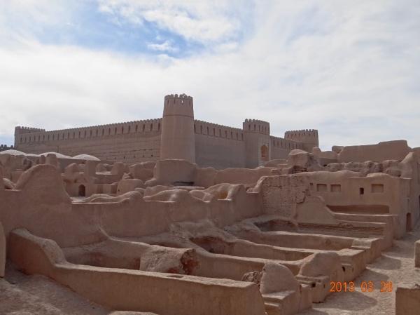 Bimillenary castle in Iran