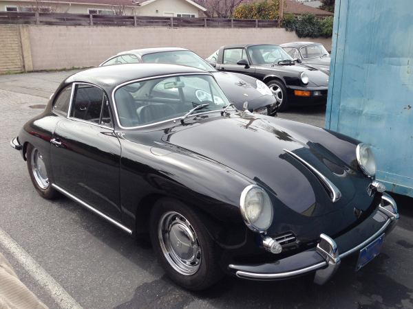Porsche 356, 996, 964, and another 356