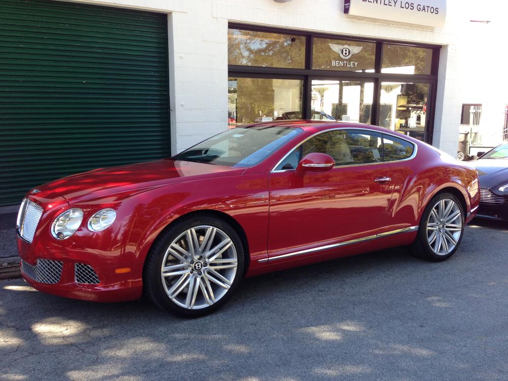 Bentley GT V12. I'd drive that.