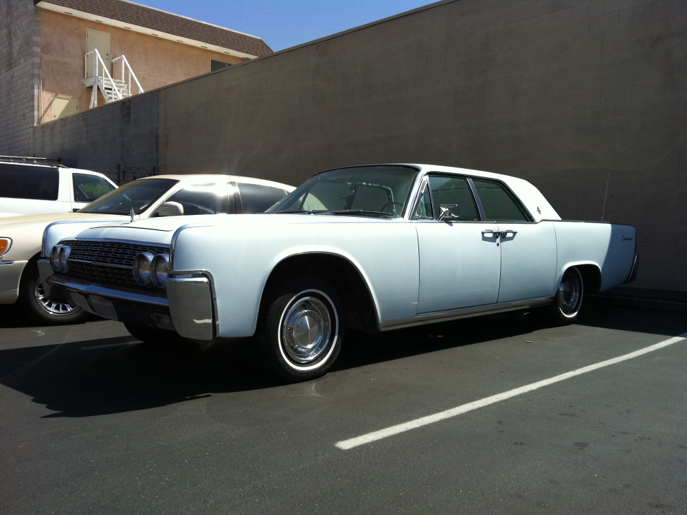 Lincoln Continental with Suicide Doors