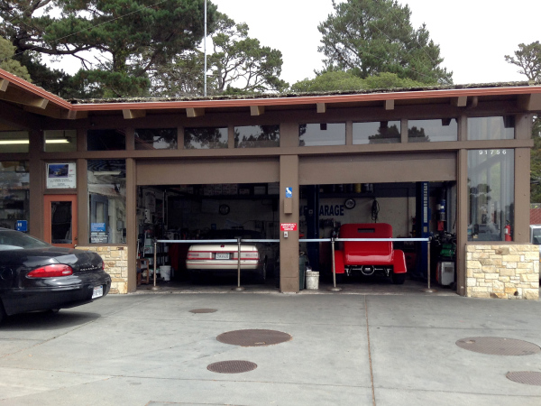 Carmel Garage - Allanté and ZZ Top
