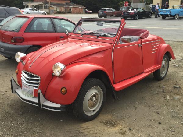 Citroën 2CV Convertible