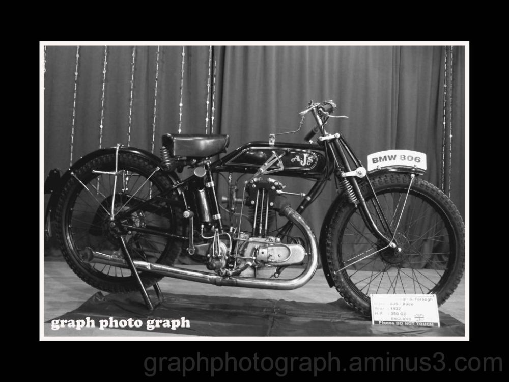 vintage car and bikes