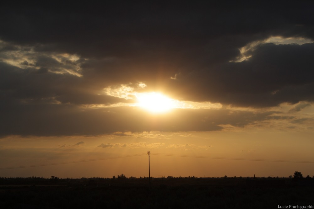 Coucher de soleil à Marrakech