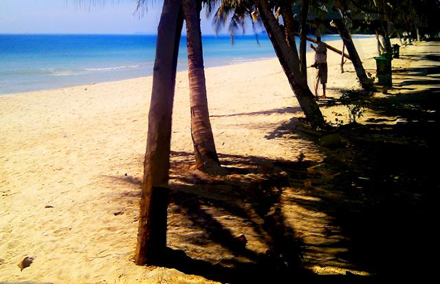 Beach at Chumpon