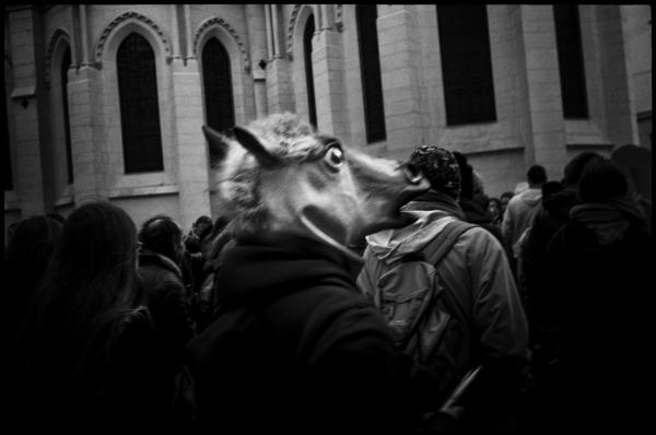 Nantes – France – 15-12-2012 [manifestation contre