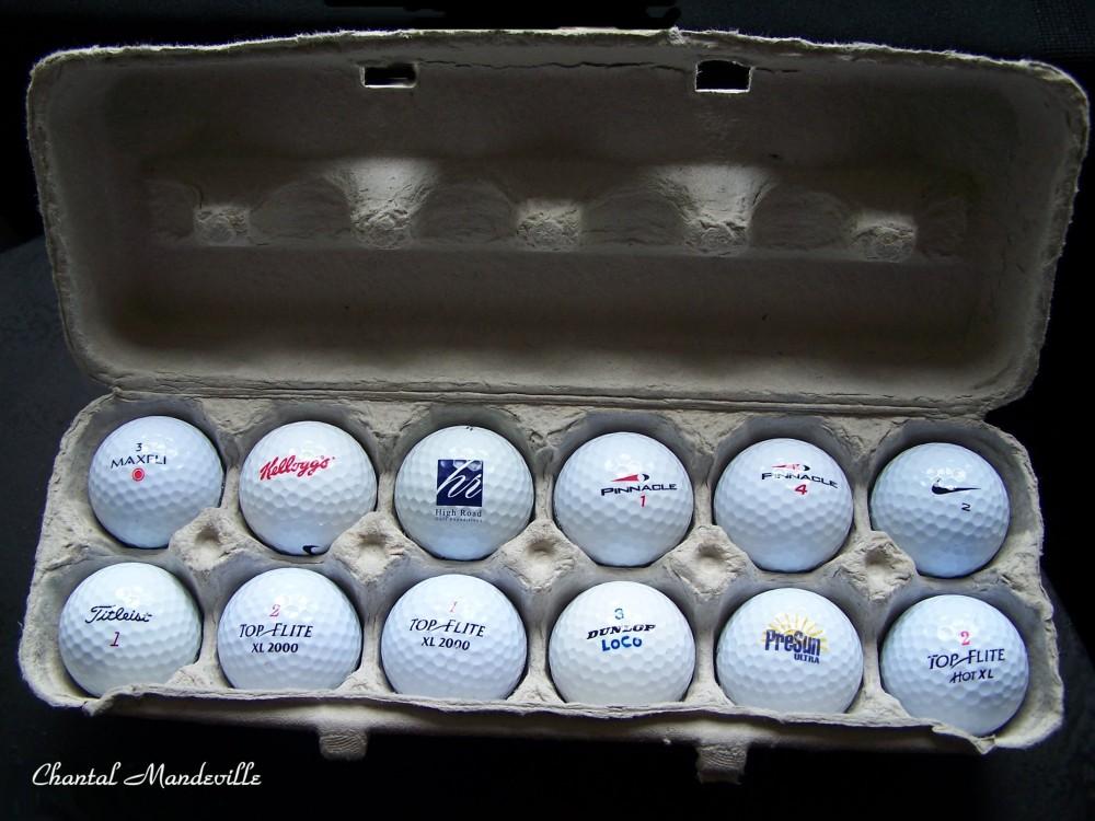Douzaine de Balles de Golf
