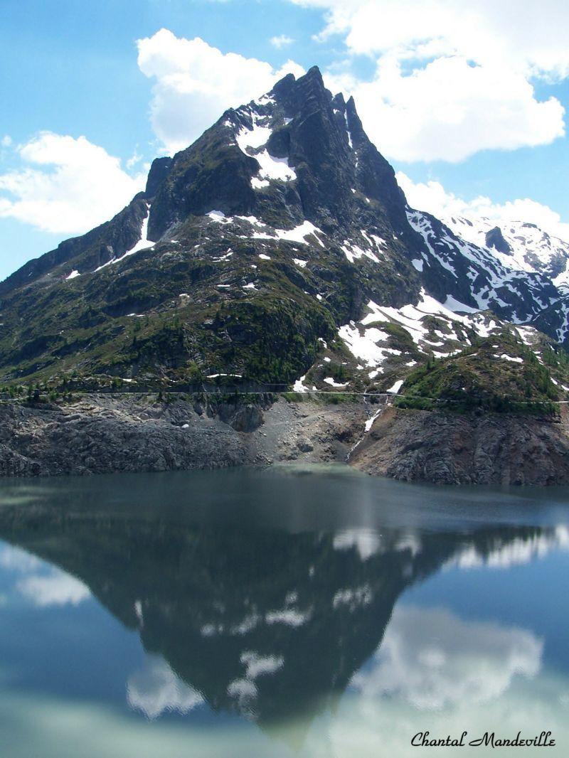 Barrage d'Emosson en Suisse