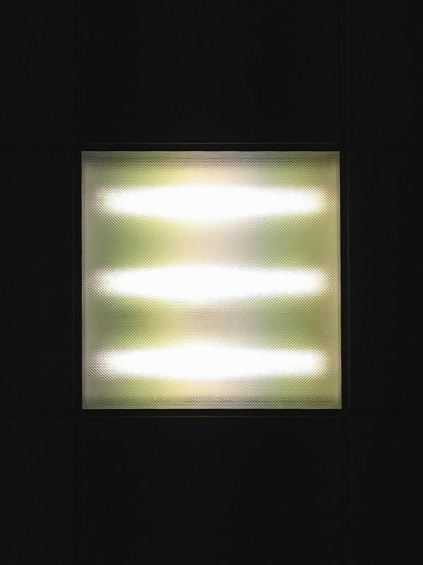 Untitled (square light)