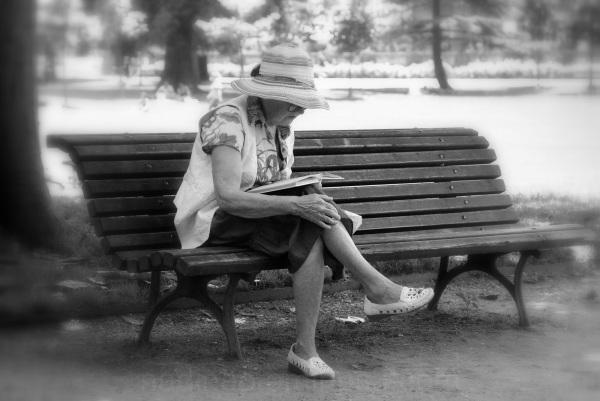 La dame au livre
