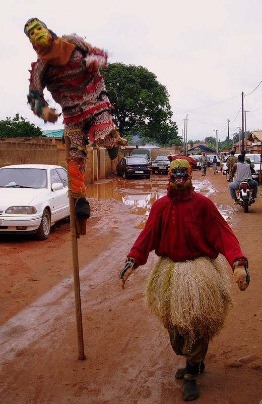 Ancestral Spirits in Funeral Procession