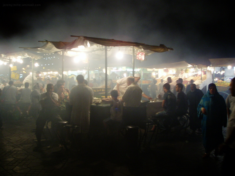 Food Stall #6 in the Land of God