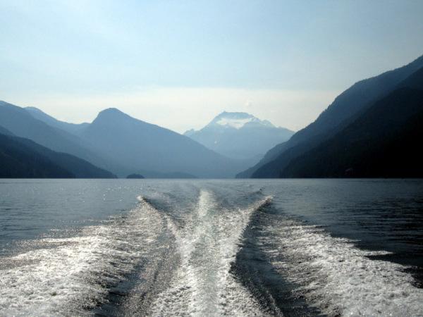 Cascade Mountains - Wake