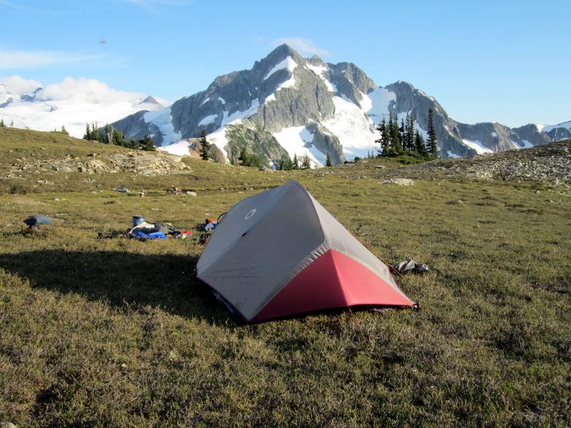 Cascade Mountains - Morraine