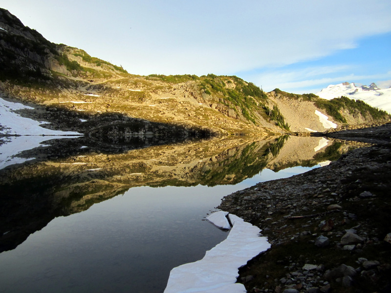 Cascade Mountains - Lake View III