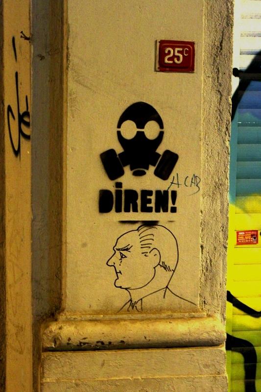 Graffiti istanbul turkey گرافيتي