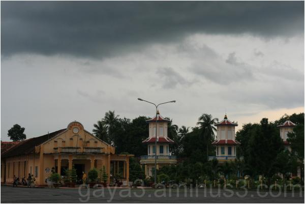 Temple & sky